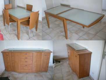 lire une petite annonce propose vendre buffet gautier merisier. Black Bedroom Furniture Sets. Home Design Ideas
