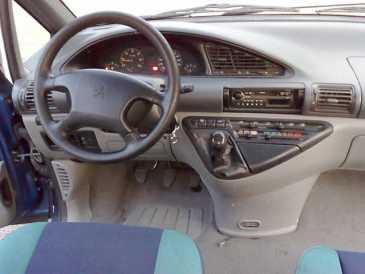 Lire une petite annonce propose vendre monospace for Peugeot 806 interieur