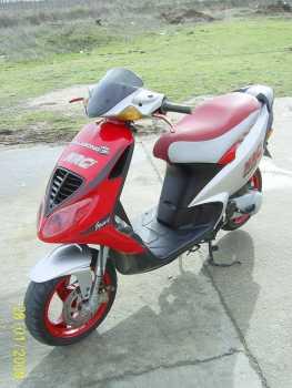 moto scooter nrg