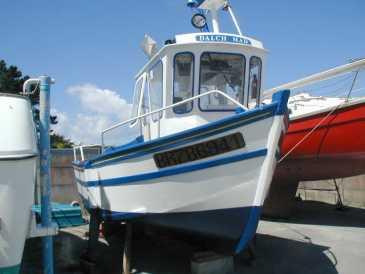 bateau de peche bois a vendre