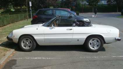 Photo : Propose à vendre Cabriolet ALFA ROMEO - Spider