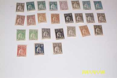 vendre timbres de collection
