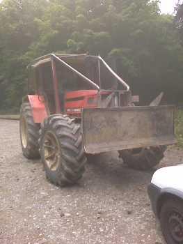 tracteur forestier a louer