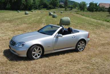 Photo : Propose à vendre Cabriolet MERCEDES - SLK