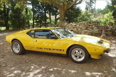 Photo : Propose à vendre Voiture de collection DE TOMASO - Pantera