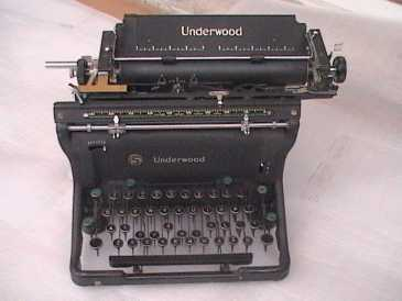 Photo : Propose à vendre Objet de collection UNDERWOOD