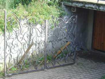 Lire une petite annonce propose vendre objet d 39 art portail en fer - Fer forge en anglais ...