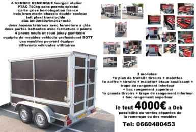chercher des petites annonces caravanes et remorques paris et idf page 3. Black Bedroom Furniture Sets. Home Design Ideas
