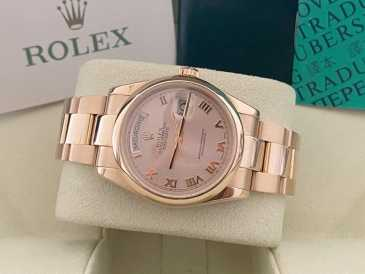 Photo : Propose à vendre Montre Homme - ROLEX - ROLEX DAY-DATE 118205 FULLSET OR ROSE  ROLEX DAY-D