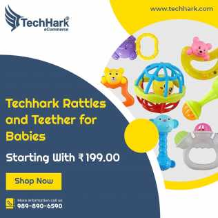 Photo : Propose à vendre Maquette TECHHARK - RATTLES AND TEETHER FOR BABIES