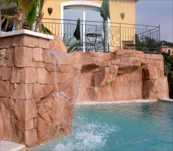 Chercher des petites annonces user ref amorettideco for Decor rocher piscine