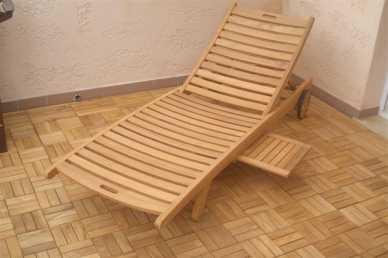 Photo Propose A Vendre Chaise Longue TECK
