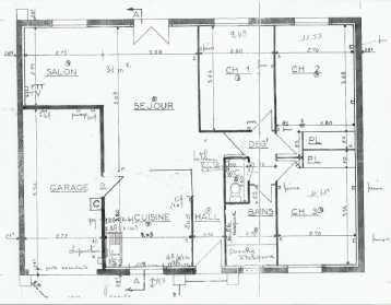 Lire une petite annonce propose vendre maison 106 m2 - Plan de maison mitoyenne ...