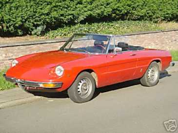 Photo : Propose à vendre Voiture de collection ALFA ROMEO - Spider