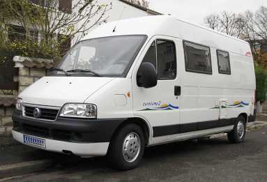 Photo : Propose à vendre Camping car / minibus FIAT - TRIGANO EUROCAMP 2