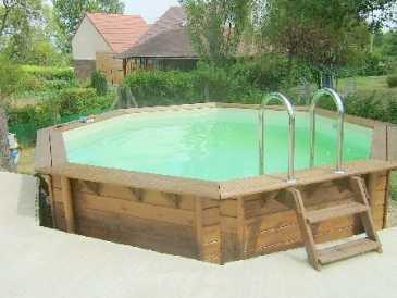 piscine bois a vendre