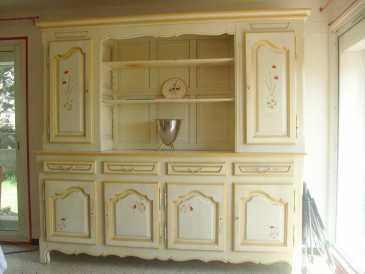 Lire une petite annonce propose vendre table chene massif meubles - Meuble peint provencal ...