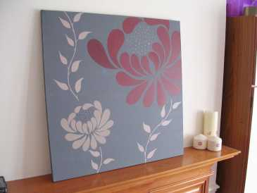 Photo : Propose à vendre Acrylique WINTER FLOWERS - Contemporain